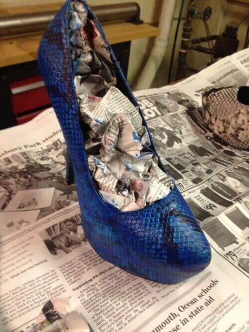 tuunaa kenkäsi kotikonstein