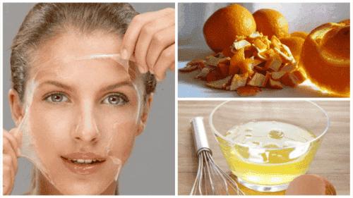 Muokkaa ihoasi tällä munanvalkuais- ja appelsiinikuorihoidolla