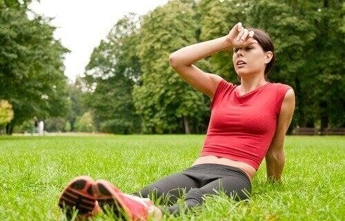 Kylmä suihku auttaa palautumaan treenistä nopeammin.