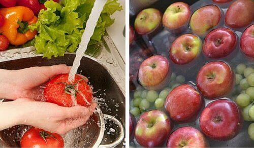 Näin poistat hyönteismyrkyt kasviksista ja hedelmistä