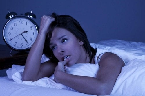 ahdistuksen oireita: unettomuus