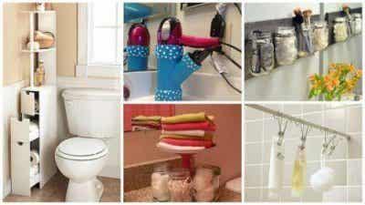 19 vinkkiä kylpyhuoneen tilan lisäämiseksi