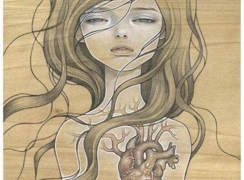 Kun sydän on särkynyt, voi mielenkiinto muihin asioihin kadota.