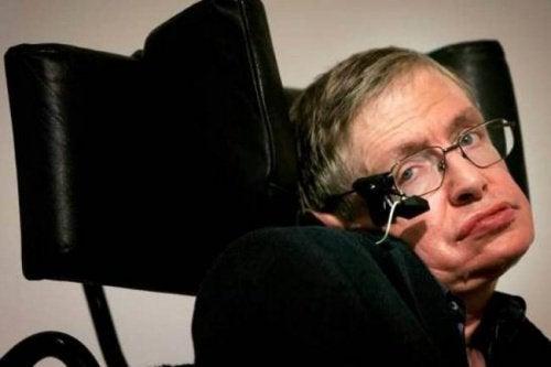 Stephen Hawkingin viesti masentuneille