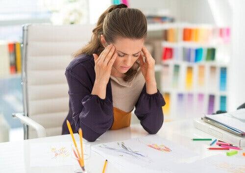 Stressiä töissä