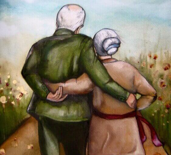 vanha pariskunta - erilaiset rakkaudet