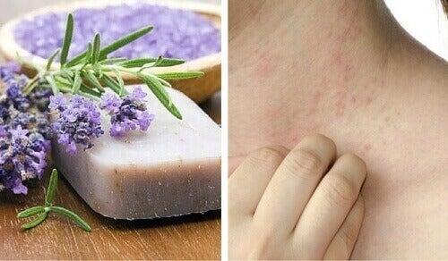 Kotitekoinen saippua herkälle tai tulehtuneelle iholle