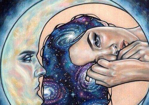 Onni tulee sisältä, ei toisesta ihmisestä