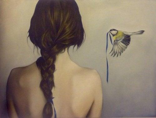 lintu ja tyttö