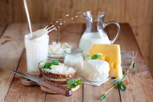 maitotuotteet ovat yleinen syy vatsan turvonneisuuteen