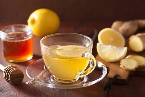 sitruuna inkivaari hunaja
