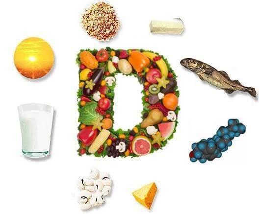 d-vitamiinin lähteet