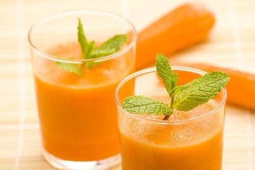 8 porkkanamehun mahtavaa hyötyä