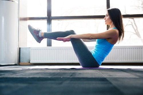 vähennä vatsarasvaa liikunnalla