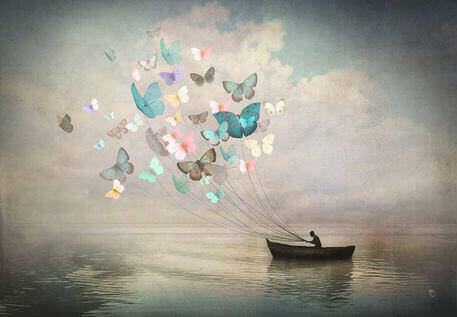 päästä irti perhosista