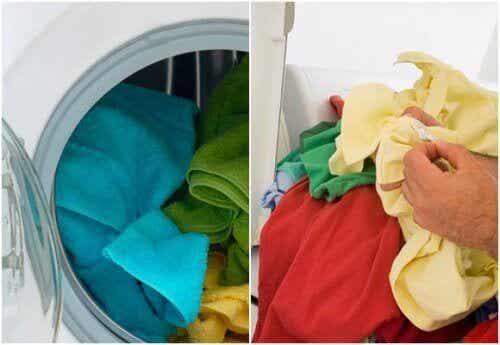 Etikan käyttö vaatteiden pesussa -  mikä loistava idea!