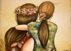 Ikä tyttö ja nainen