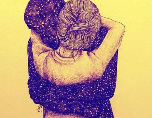 Aika pysähtyy halaus