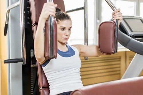 terveet rinnat liikunnan avulla