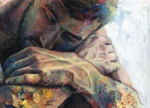 maalaus miehestä