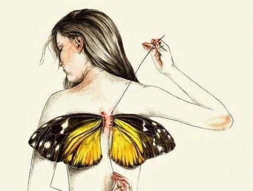 Olemme kaikki syntyneet siivet selässämme, mutta joskus elämä ottaa ne pois