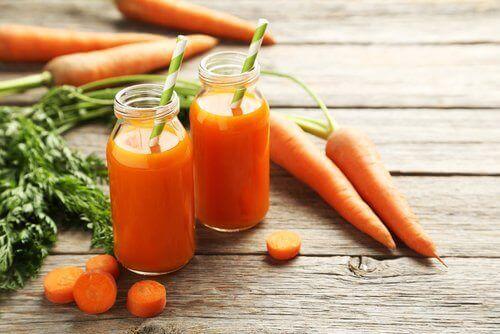 Kaloreita polttavat porkkanat