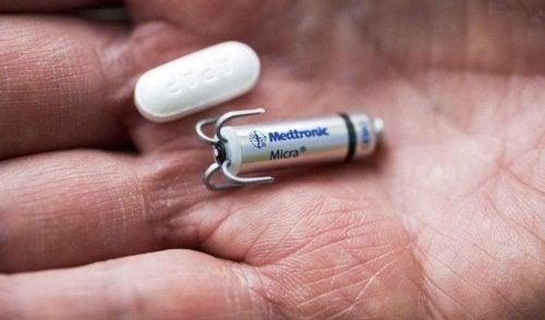 Micra: maailman pienin ilman leikkausta asennettava sydämentahdistin