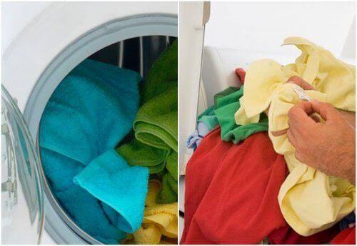 Etikka pyykinpesussa