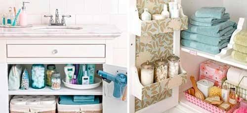 13 niksiä kylpyhuoneen pitämiseksi siistinä