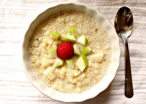 aamupala kvinoasta