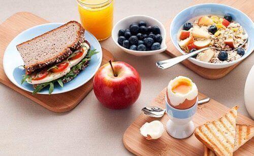Ravitseva aamupala