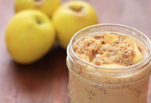 Kvinoan, omenan ja kanelin hyödyt aamupalalla nautittuina