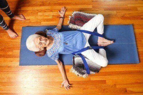 jooga muutti vanhan naisen elämän