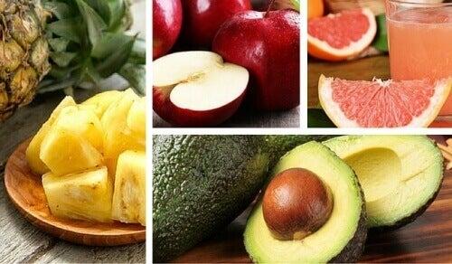 hedelmistä kuitua