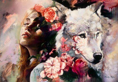 Menestyvä tyttö ja susi