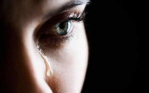 Itkeminen on merkki monista asioista