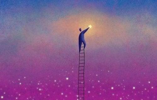 Itsehillintä tähti taivaalta