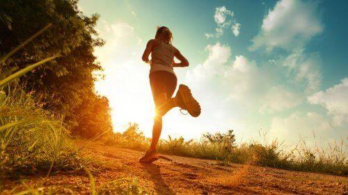 Juokseminen auttaa taistelemaan negatiivisia tunteita vastaan