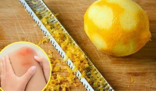Sitruunankuori nivelkipuun
