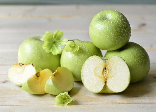vihreä omena torjuu tulehduksia