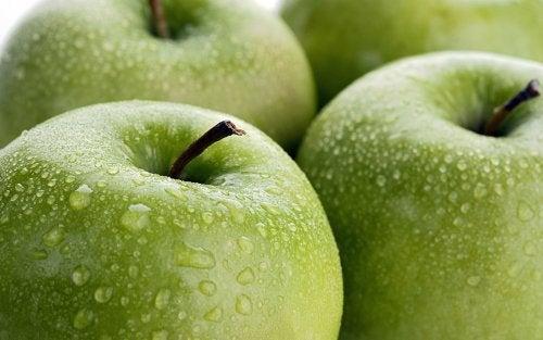 vihreän omenan syönti kannattaa