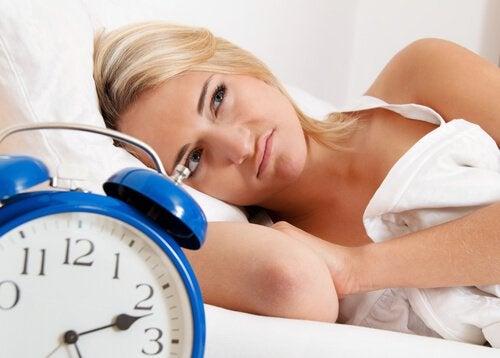 nukahtamisvaikeudet