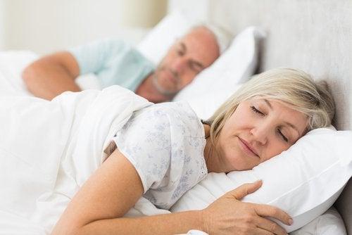 vaihdevuosista tuttu oire on unentarve