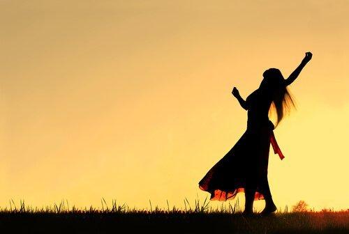 nainen ja kiitollisuus