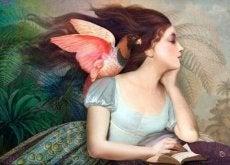 Unelmoiva nainen