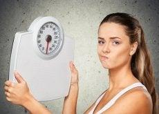 Naisen paino ei putoa