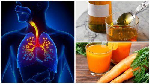 Luonnollinen yskänlääke porkkanasta