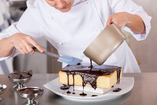 suklaakakun valmistus