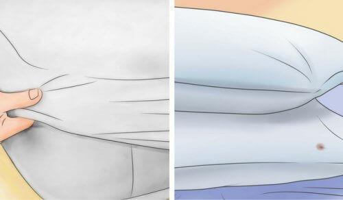 Näin valkaiset tyynysi ja patjasi