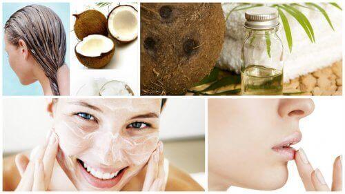 kookosöljy ihonhoidossa